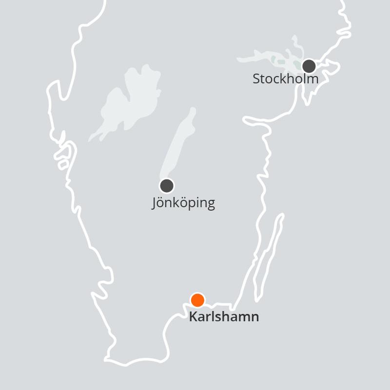 Våra kontor i Sverige